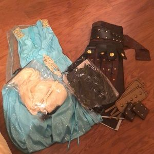 Dresses & Skirts - Khaleesi & Khal Drogo Costumes and Wigs